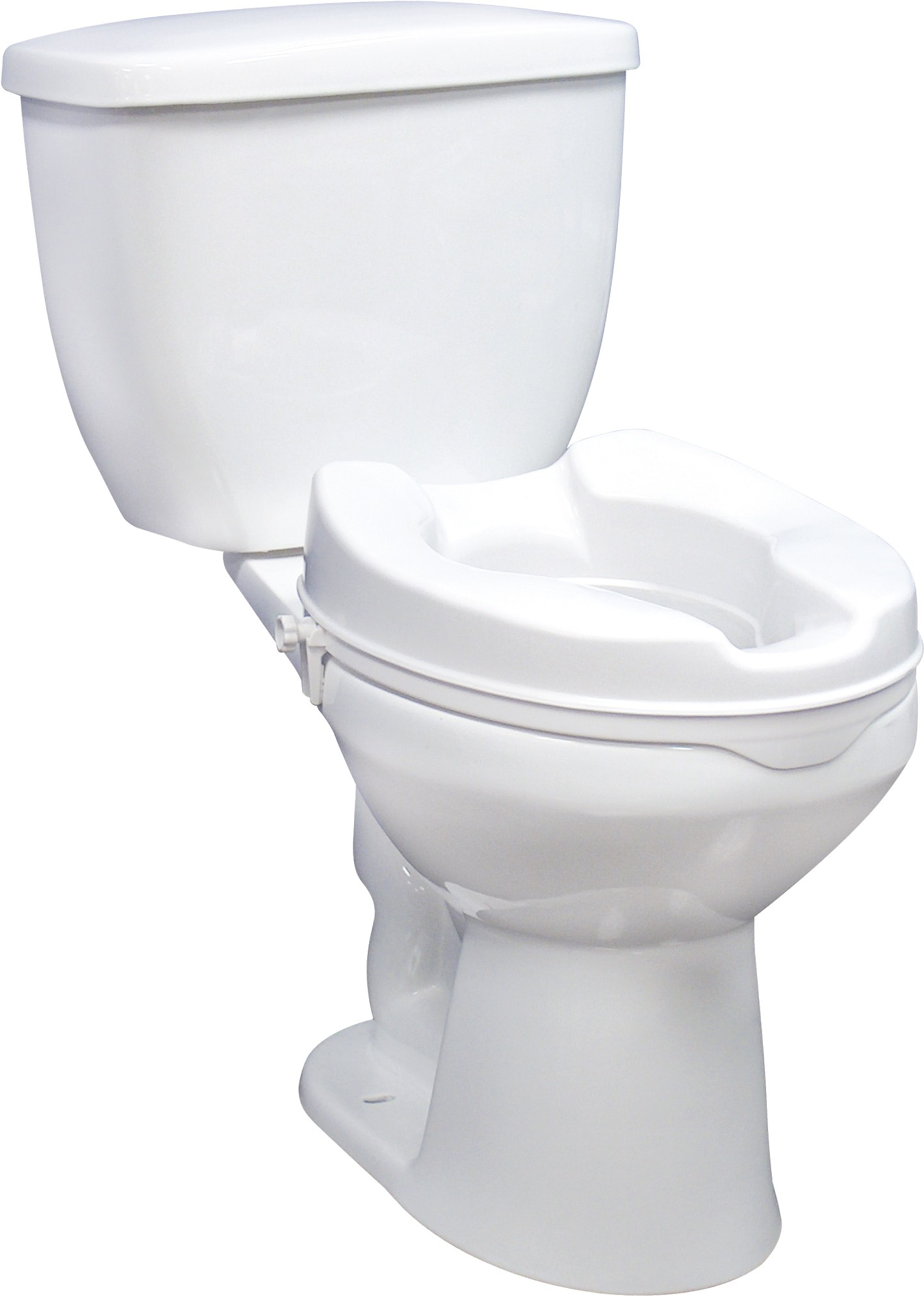 2 Raised Toilet Seat Without Lid By Drive Medical