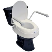 Astounding 5 Premium Plastic Raised Elongated Toilet Seat With Lock Short Links Chair Design For Home Short Linksinfo